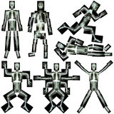 Raccolta dello scheletro umano Fotografie Stock Libere da Diritti