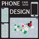 Raccolta dello schermo e della copertura del telefono cellulare indietro Fotografie Stock Libere da Diritti