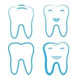 Raccolta dentaria del dente royalty illustrazione gratis
