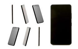 Raccolta di alta vista di definizione di un cellulare di progettazione Immagini Stock