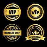 Raccolta di bollo di VIP Immagini Stock