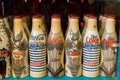 Raccolta di Coca-Cola Fotografia Stock