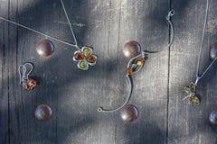 Raccolta di gioielli Fotografia Stock