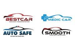 Raccolta di logo dell'automobile Fotografia Stock Libera da Diritti