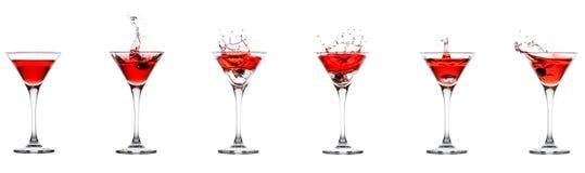 Raccolta di Martini Immagine Stock