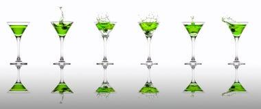 Raccolta di Martini Fotografia Stock Libera da Diritti