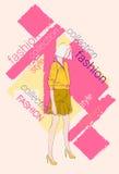 Raccolta di modello femminile di Wear Fashion Clothes Fotografie Stock Libere da Diritti
