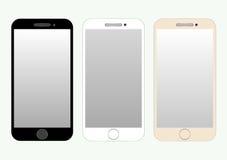 Raccolta di Smartphone Immagini Stock