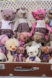 Raccolta di Teddy Bear Foto Fotografia Stock Libera da Diritti