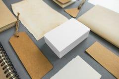 Raccolta di vari carta, cartone, etichetta, carta e libro con Immagine Stock Libera da Diritti