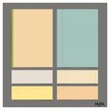 Raccolta di varie carte d'annata (strati, carta per appunti di carta), Fotografie Stock