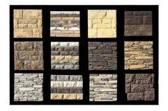 Raccolta di varie strutture delle pareti Fotografia Stock
