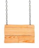 Raccolta di vario segno di legno vuoto su fondo bianco fotografia stock