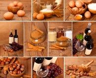 Raccolta di alimento Fotografia Stock