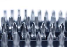 Raccolta dura dei pezzi dello strumento del metallo Immagini Stock Libere da Diritti