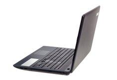 Raccolta elettronica - computer portatile moderno isolato sul backgrou bianco Fotografie Stock