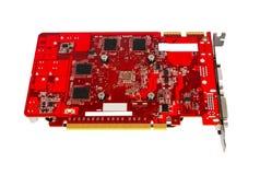Raccolta elettronica - videocard del computer Immagini Stock