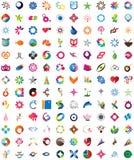 Raccolta enorme delle icone d'avanguardia illustrazione vettoriale