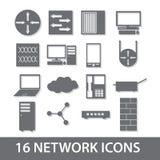 Raccolta eps10 dell'icona della rete Illustrazione Vettoriale