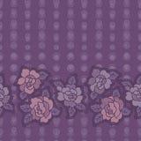 Raccolta floreale dell'illustrazione dell'acquerello i fiori hanno sistemato l'ONU una forma della corona perfetta Immagine Stock Libera da Diritti