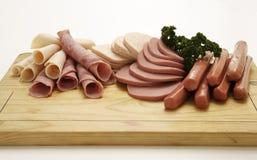 Raccolta fredda della carne della ghiottoneria Immagini Stock