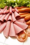 Raccolta fredda della carne della ghiottoneria Fotografia Stock