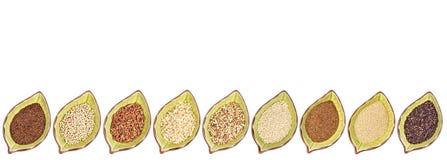 Raccolta libera del grano del glutine Fotografie Stock Libere da Diritti