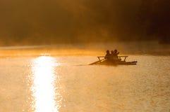 Raccolta Mae Hong Son Tailandia di tramonto Fotografia Stock Libera da Diritti