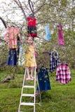 Raccolta magica dei vestiti Immagine Stock Libera da Diritti