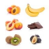 Raccolta matura della frutta fresca Immagine Stock