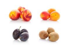Raccolta matura della frutta fresca Fotografie Stock Libere da Diritti
