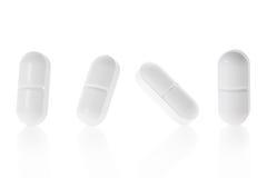 Raccolta medica della compressa della pillola Fotografia Stock