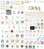 Raccolta mega di logo royalty illustrazione gratis