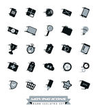 Raccolta rapida delle icone Immagine Stock Libera da Diritti