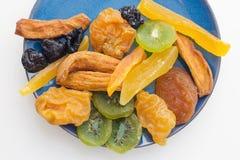 Raccolta secca di frutti tropicali Fotografia Stock
