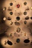Raccolta stupefacente degli orologi storici, il Louvre, Parigi, Francia, 2016 Immagini Stock