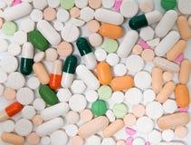 Raccolta variopinta della capsula e della pillola Immagini Stock Libere da Diritti