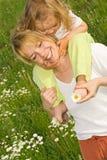 Raccolto felice del fiore Fotografie Stock Libere da Diritti