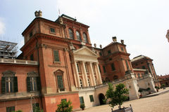 Racconigi castle Royalty Free Stock Images