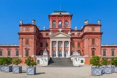 Racconigi palace in Italy. Stock Photo