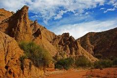 Racconto del canyon della roccia immagini stock