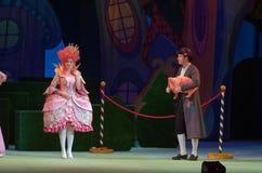 Racconto del principe e della principessa Immagini Stock