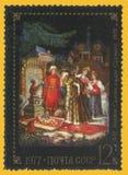 Racconto dello zar Saltan immagini stock libere da diritti