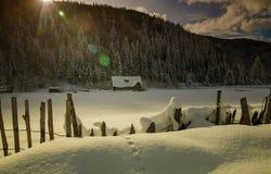 Racconto di inverno Fotografie Stock Libere da Diritti