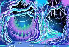 Racconto magico Forest Background Immagini Stock