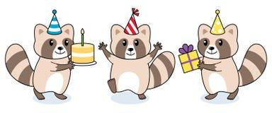 Raccoon2 stock de ilustración