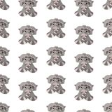 2018.02.09_raccoon_P royalty free illustration
