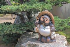 Raccoon statue Kyoto Japan Stock Photos