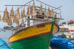 Raccordi del pesce essiccato fotografia stock