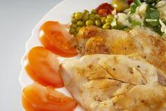Raccordo del pollo Fotografie Stock